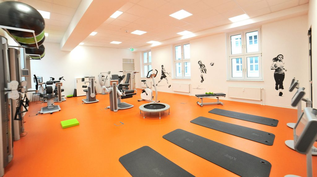 Physiotherapie Essen Trainingsraum